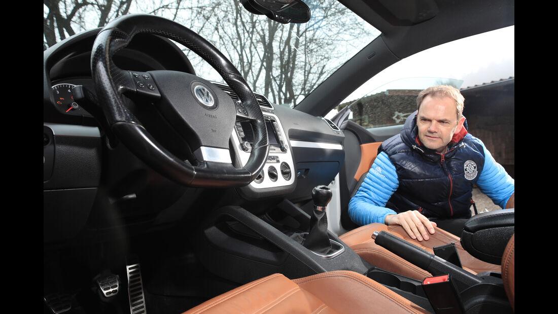 VW Scirocco 2.0 TSI, Interieur