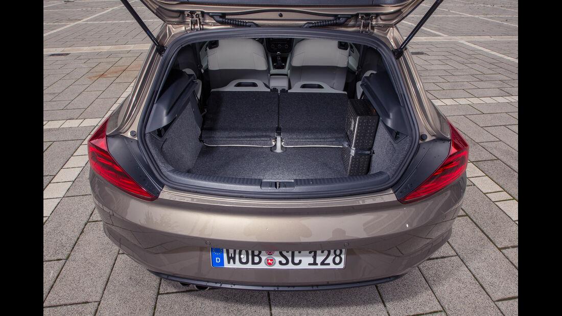 VW Scirocco 2.0 TSI, Kofferraum