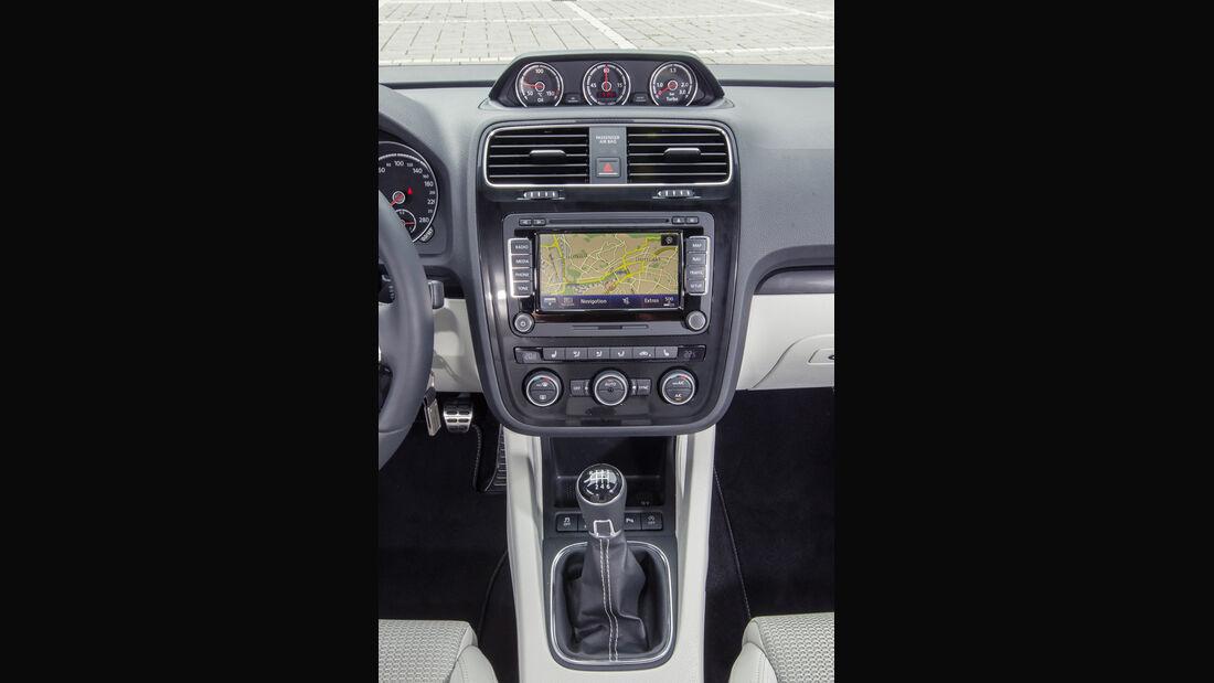 VW Scirocco 2.0 TSI, Mittelkonsole