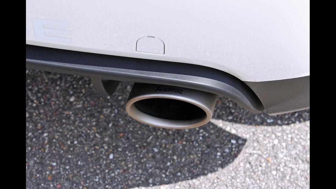 VW Scirocco, Auspuff, Endrohr