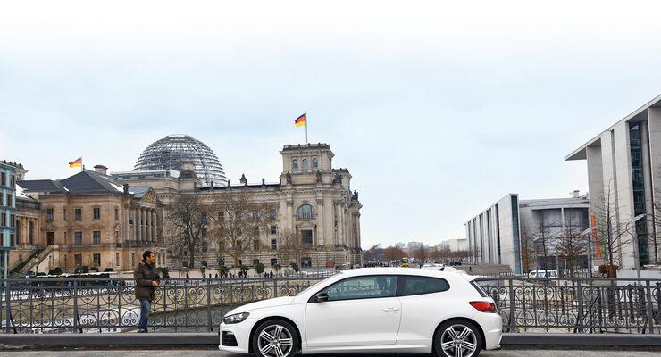 VW Scirocco, Berlin