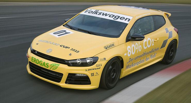 VW Scirocco Erdgas Rennversion