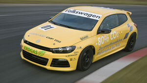 VW Scirocco Erdgas Rennversion