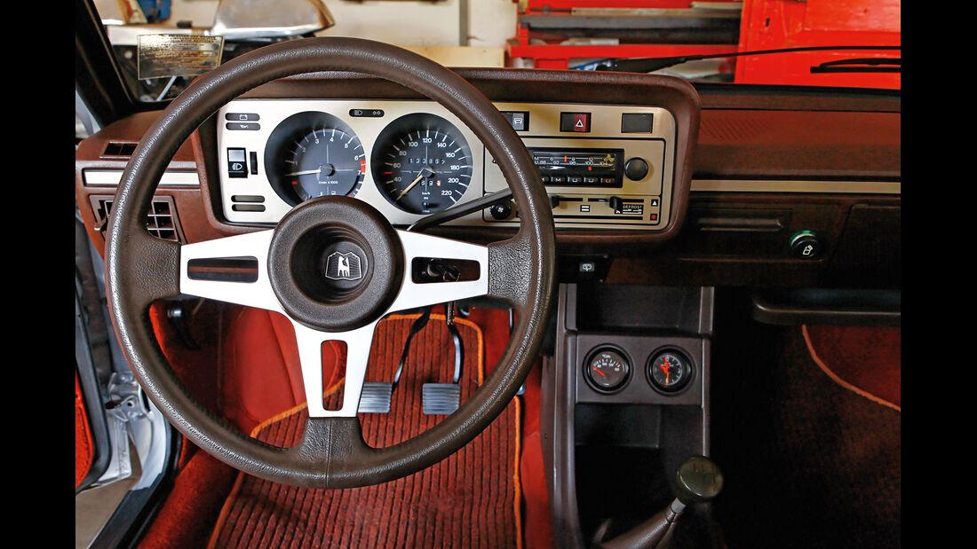 VW Scirocco GL, Cockpit