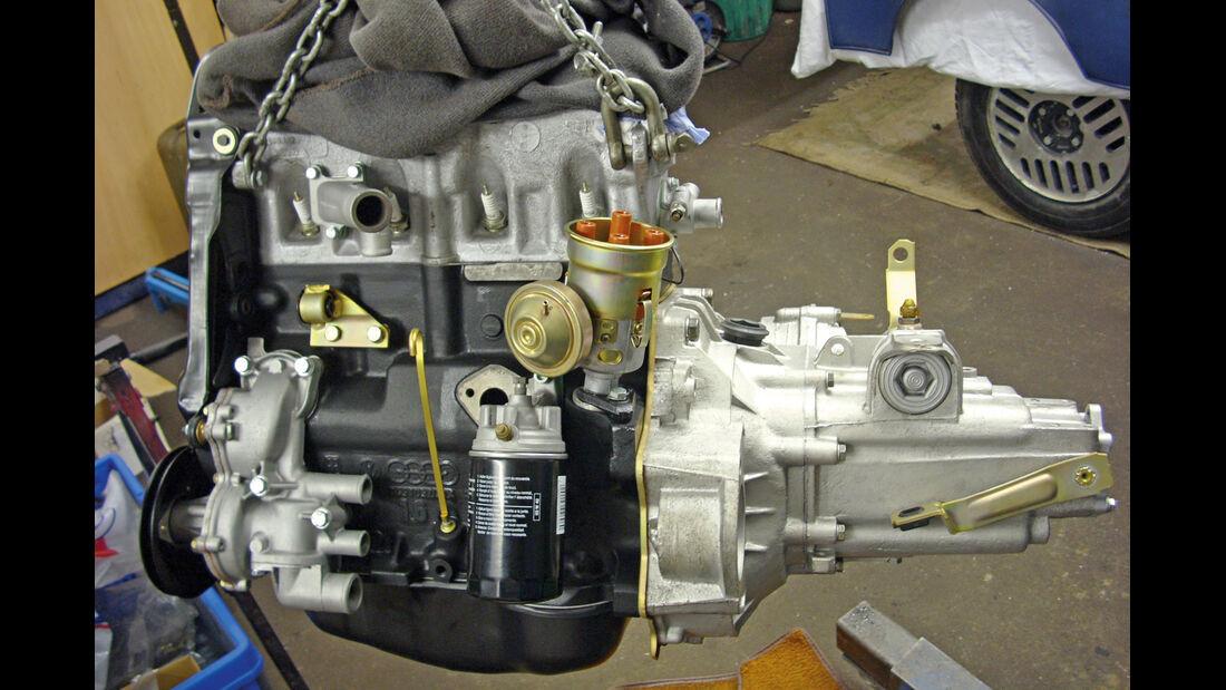 VW Scirocco GL, Motor