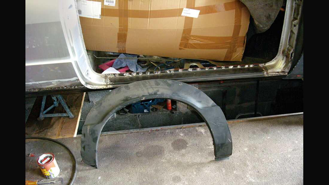 VW Scirocco GL, Rost