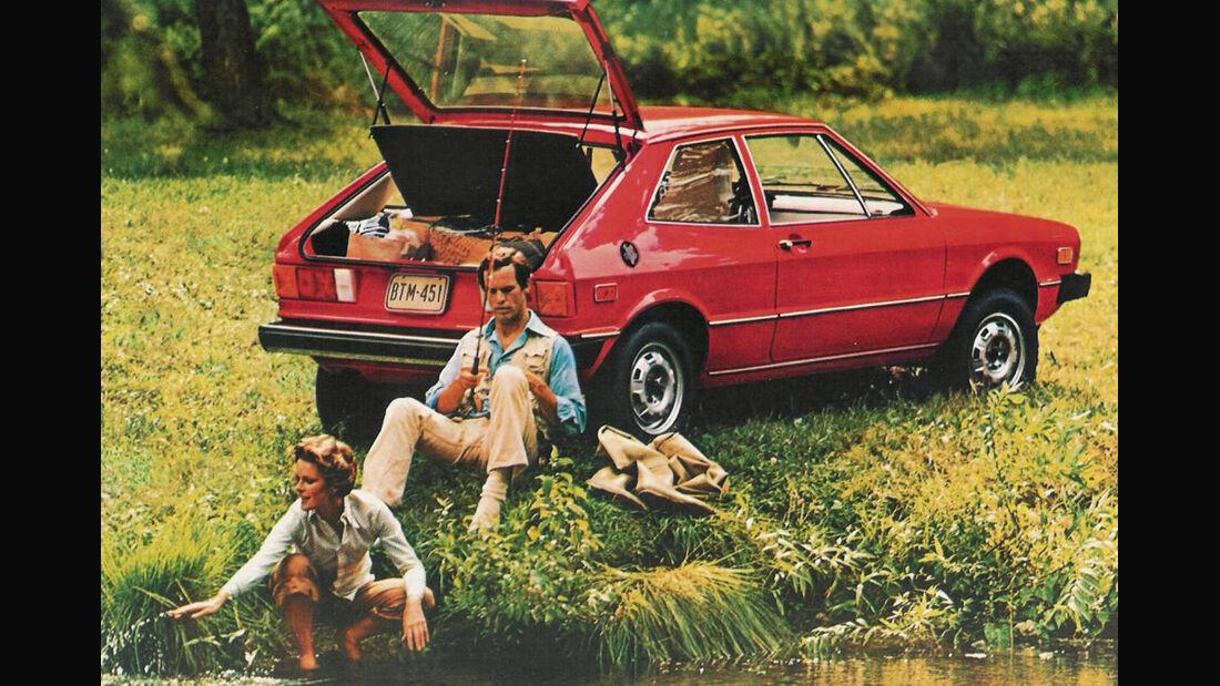 VW Scirocco GL, Werbung
