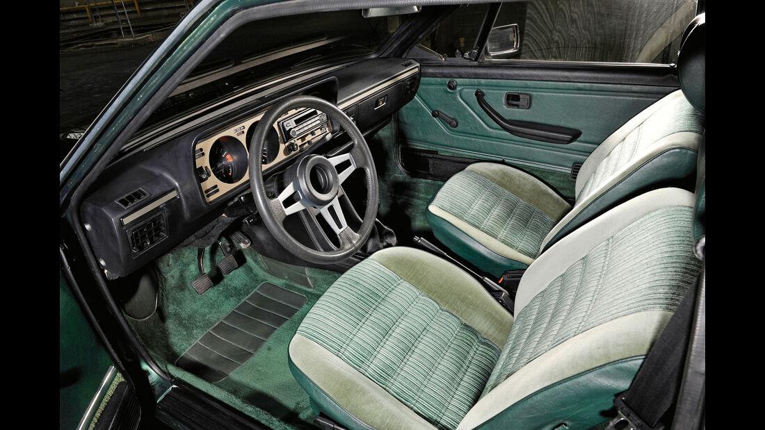 VW Scirocco GLI, Fahrersitz
