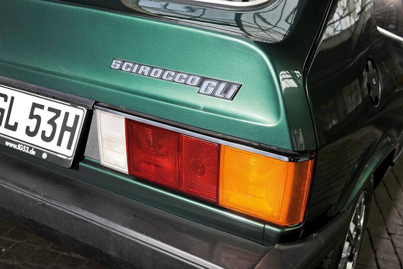 VW Scirocco GLI, Heckleuchte