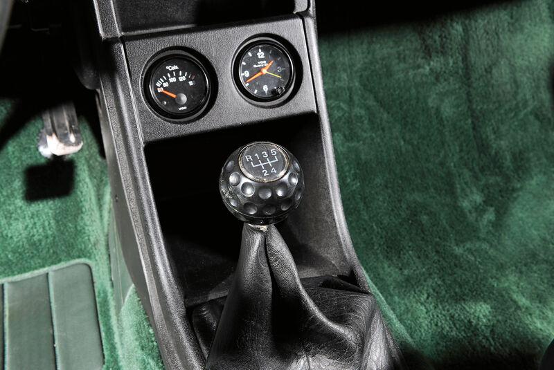 VW Scirocco GLI, Schalthebel