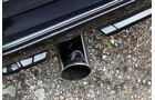 VW Scirocco GT II, Auspuff