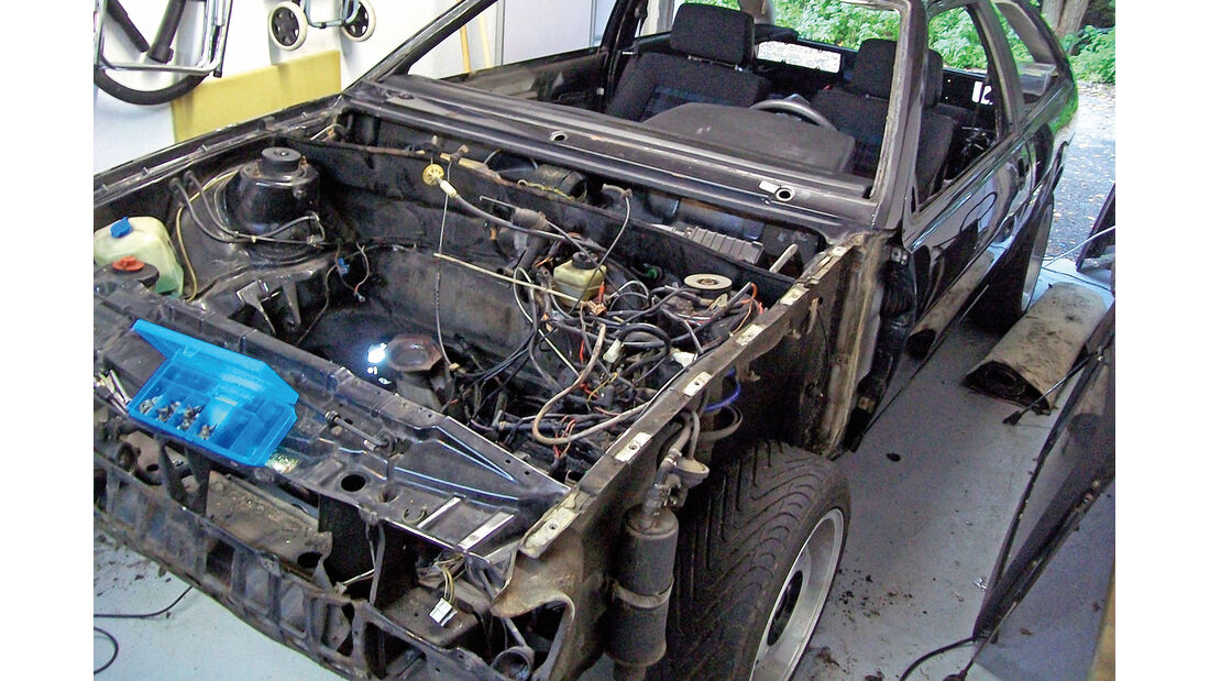 VW Scirocco GT II, Chassis