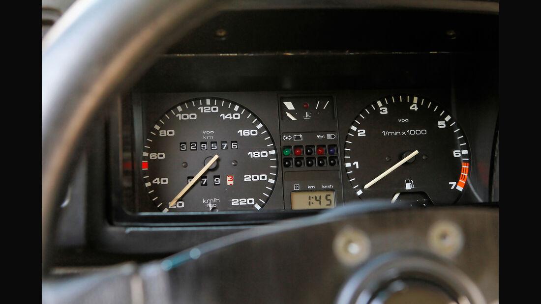 VW Scirocco GT II, Rundinstrumente