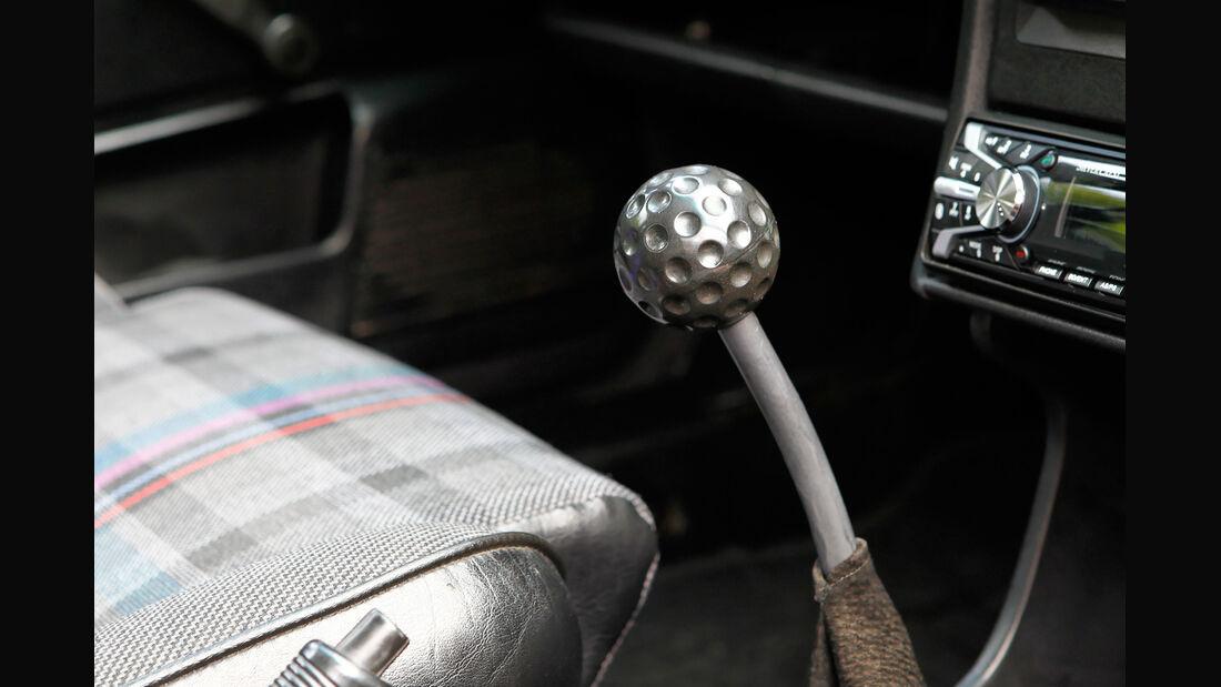 VW Scirocco GT II, Schalthebel