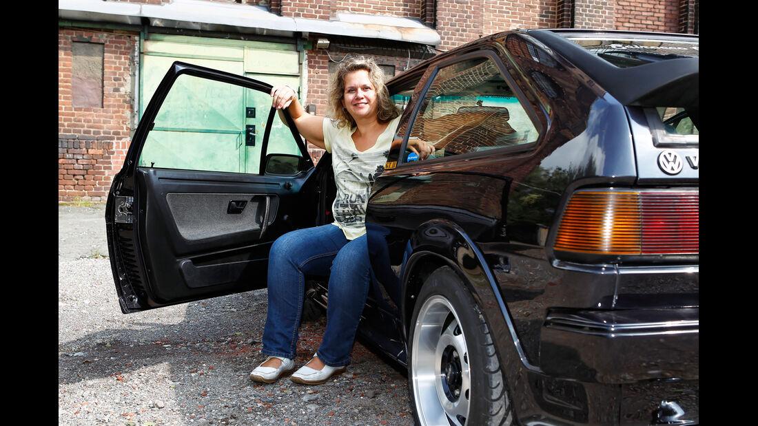 VW Scirocco GT II, Seitenlinie