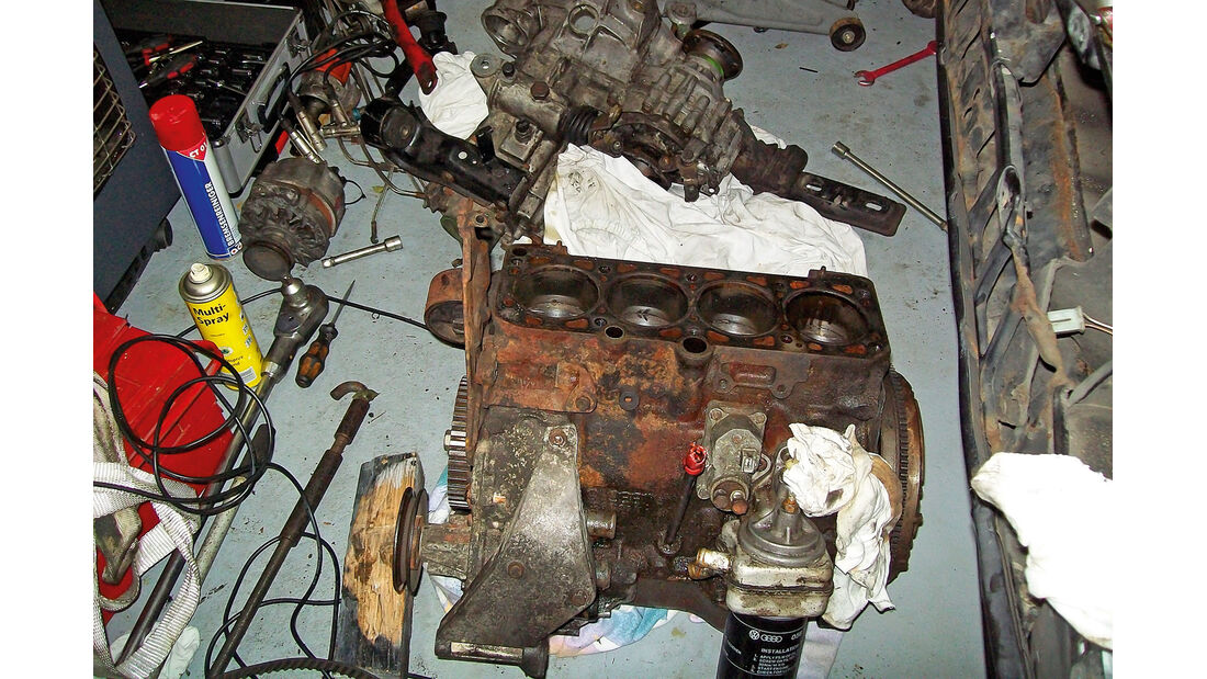 VW Scirocco GT II, Technikarbeiten