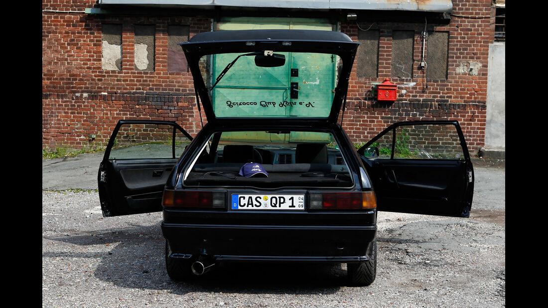 VW Scirocco GT II, Türen offen