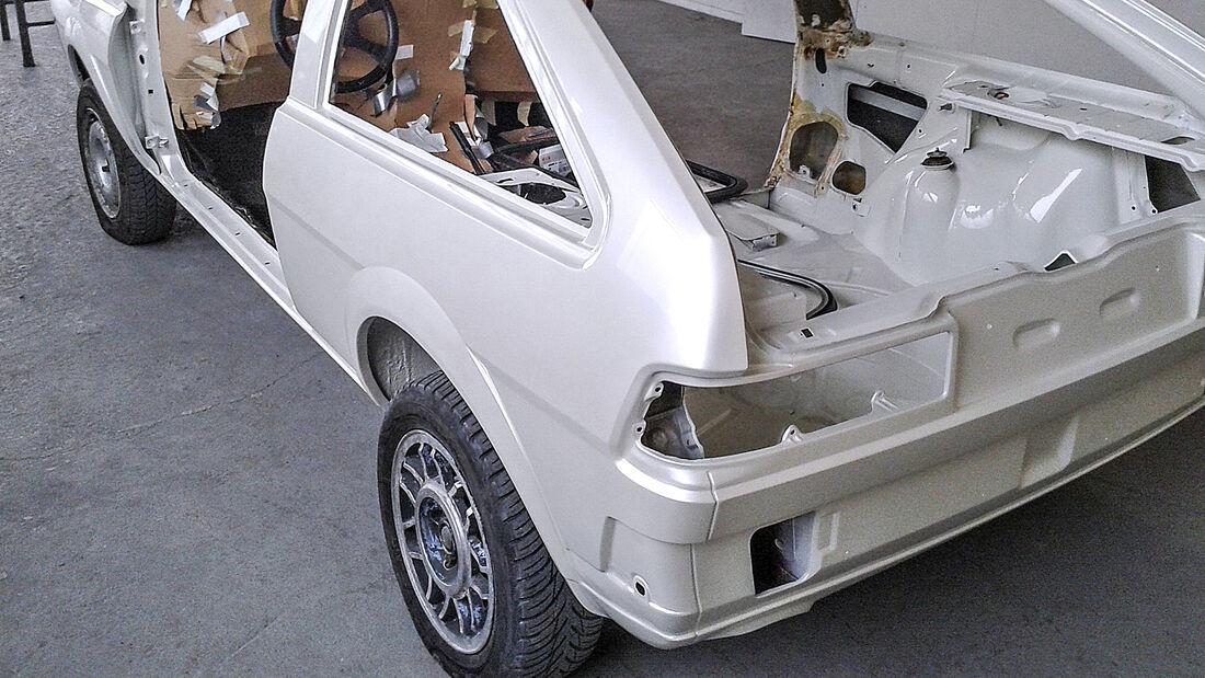 VW Scirocco GTI Kamei X1, Exterieur