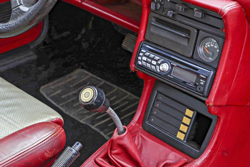 VW Scirocco GTI Kamei X1, Interieur