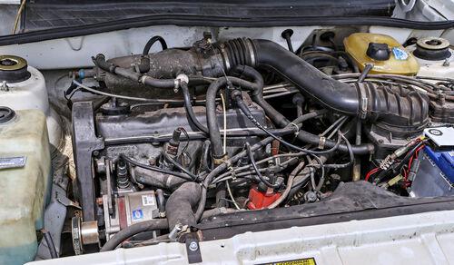 VW Scirocco GTI Kamei X1, Motorraum