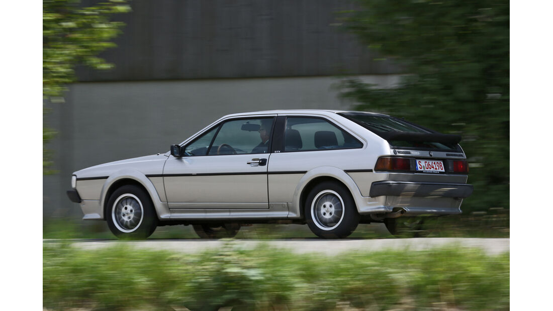 VW Scirocco GTX, Seitenansicht