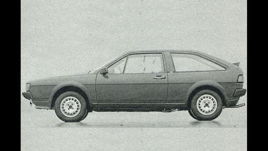 VW, Scirocco, IAA 1981