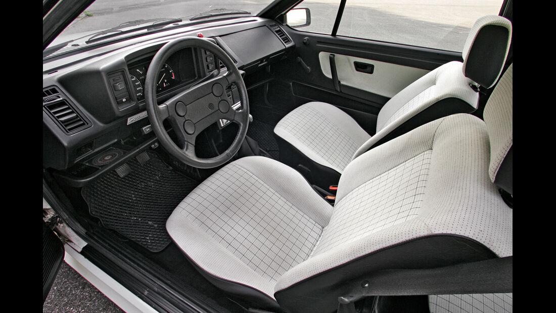 VW Scirocco II, Cockpit, Sitze