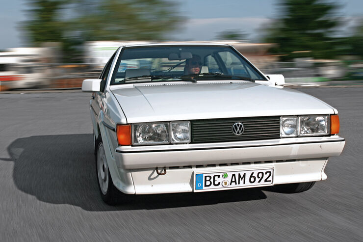 VW Scirocco II, Frontansicht