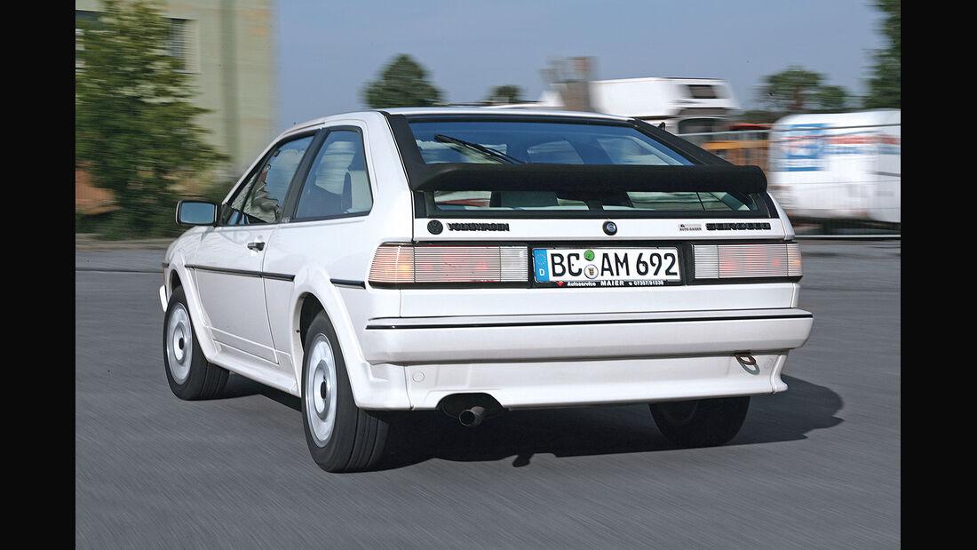 VW Scirocco II, Heckansicht