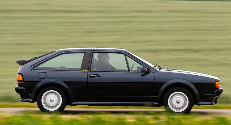 VW Scirocco II, Seitenansicht
