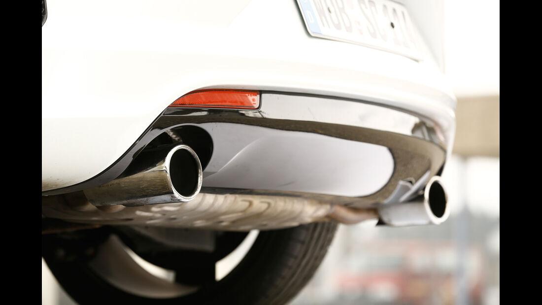 VW Scirocco R, Auspuff, Endrohr