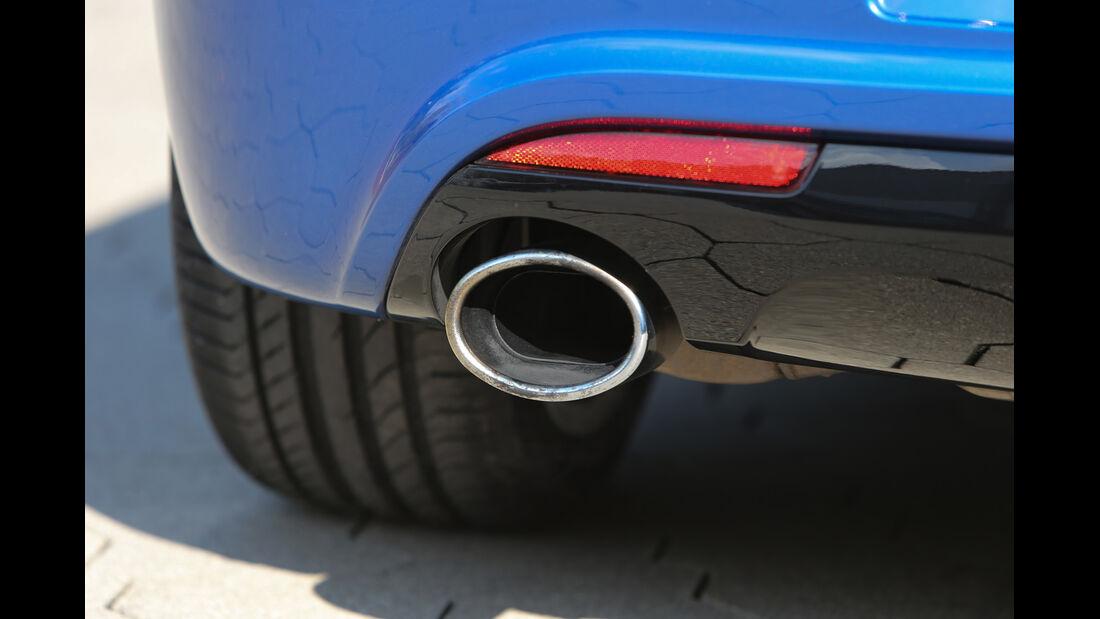 VW Scirocco R, Endrohr, Auspuff