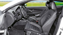 VW Scirocco R, Fahrersitz