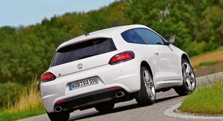VW Scirocco R, Heck