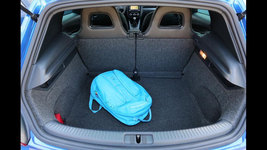 VW Scirocco R, Kofferraum