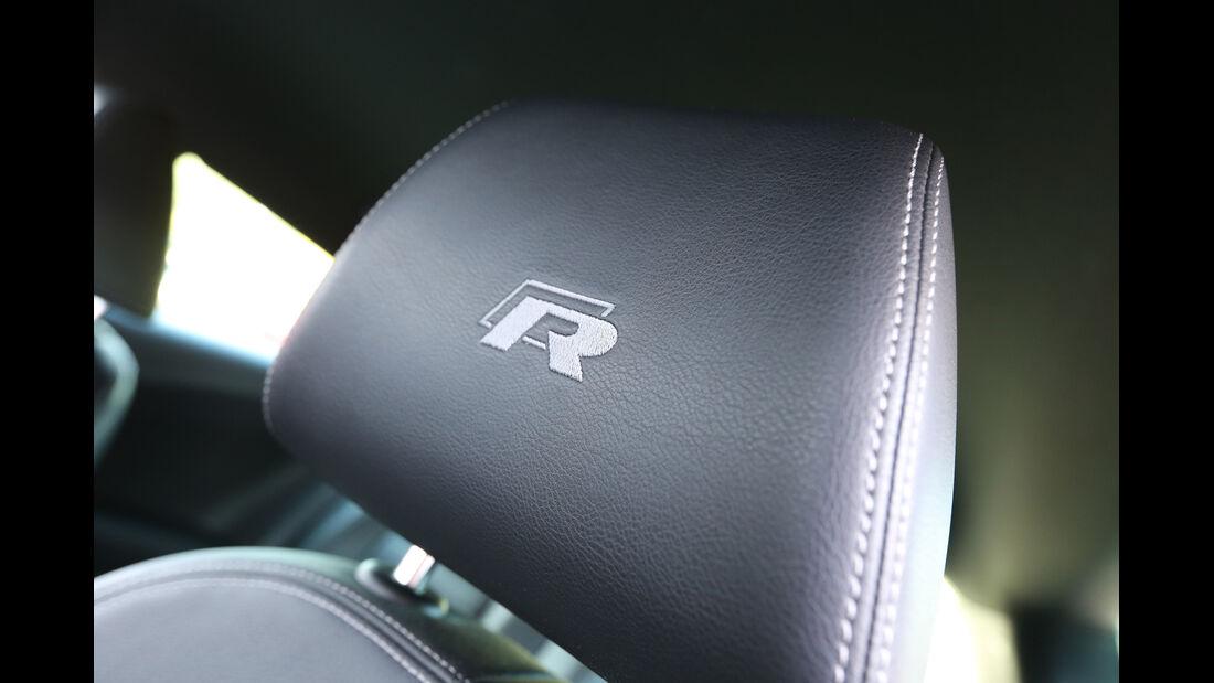 VW Scirocco R, Kopfstütze