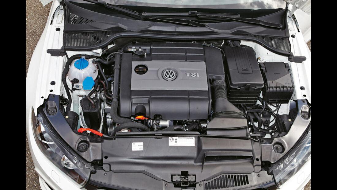 VW Scirocco R, Motor
