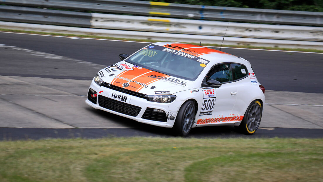 VW Scirocco R - Startnummer #500 - mathilda racing - VT2 - NLS 2020 - Langstreckenmeisterschaft - Nürburgring - Nordschleife