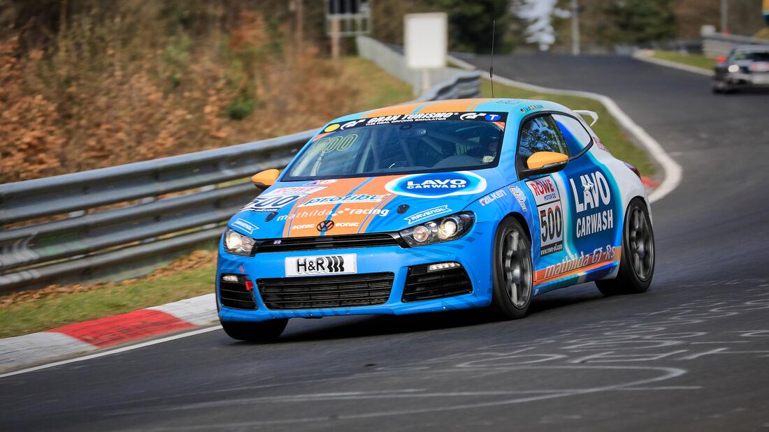 VW Scirocco R - Startnummer #500 - mathilda racing - VT2 - NLS 2021 - Langstreckenmeisterschaft - Nürburgring - Nordschleife