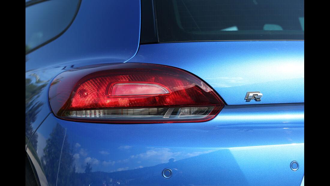 VW Scirocco R, Typenbezeichnung, Heckleuchte
