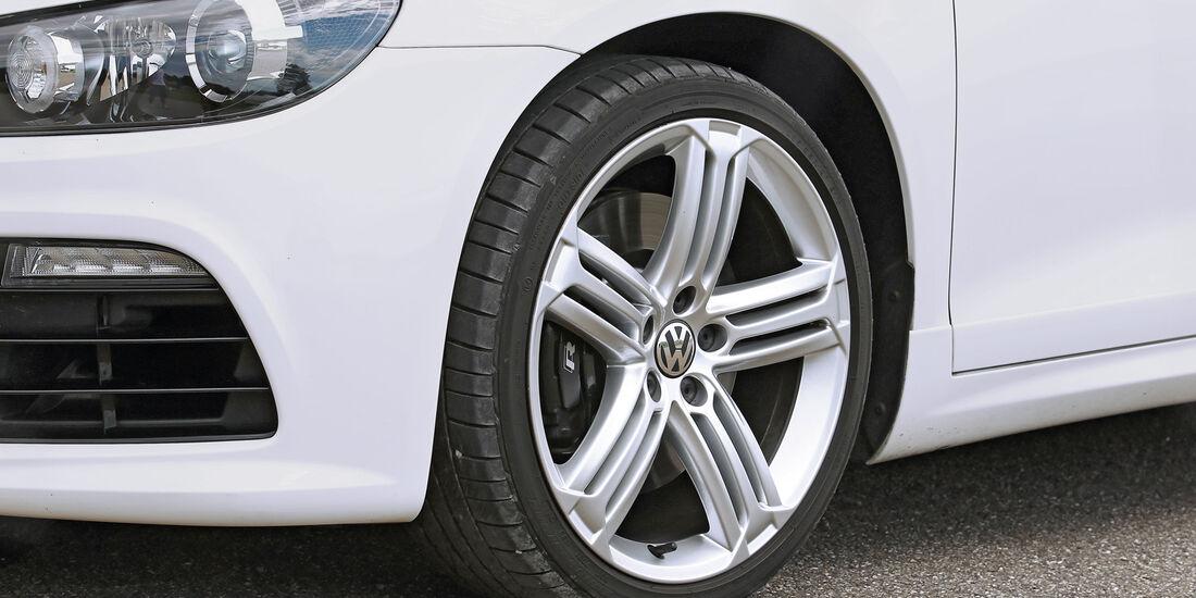 VW Scirocco, Rad, Felge