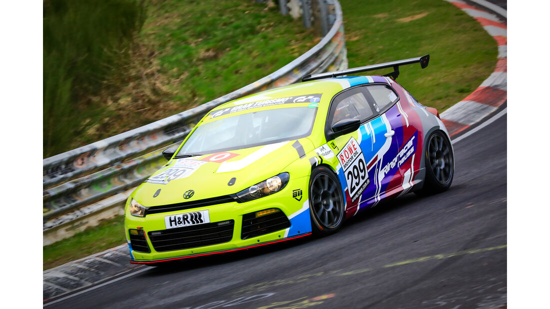 VW Scirocco - Startnummer #299 - SP3T - VLN 2019 - Langstreckenmeisterschaft - Nürburgring - Nordschleife