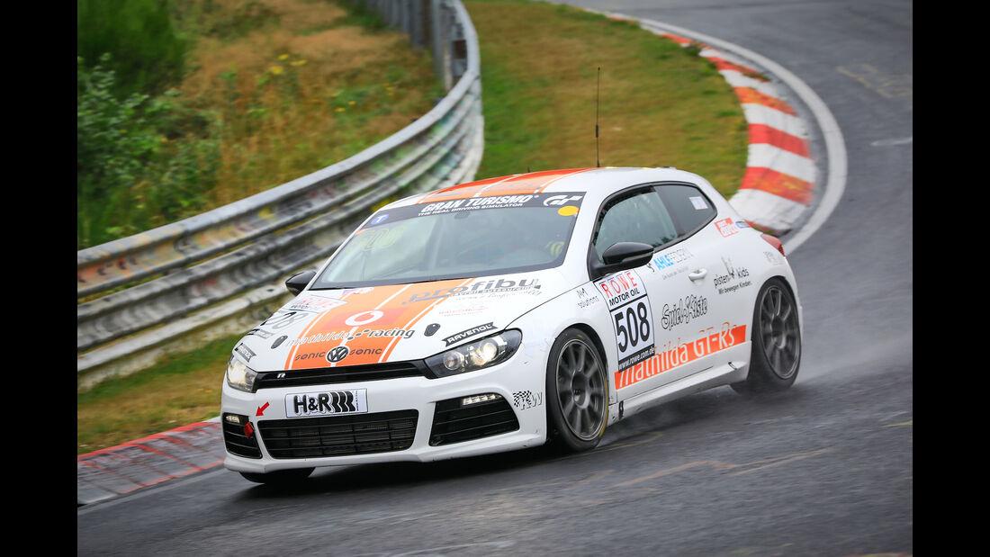 VW Scirocco - Startnummer #508 - Mathilda Racing - VT2 - VLN 2019 - Langstreckenmeisterschaft - Nürburgring - Nordschleife
