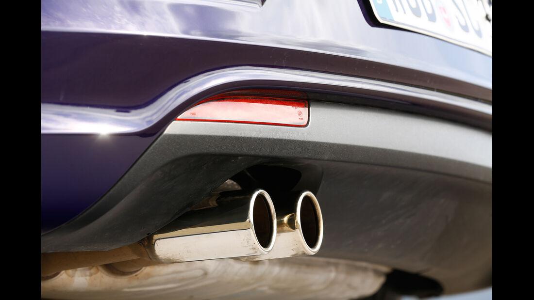 VW Scirocco TDI, Auspuff, Endrohr