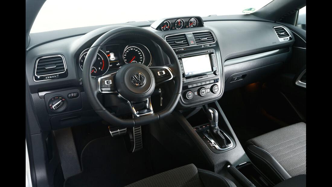 VW Scirocco TDI, Cockpit
