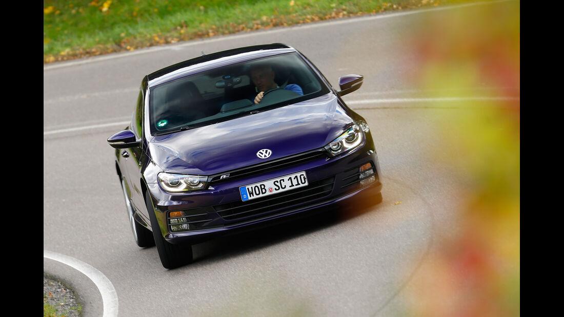 VW Scirocco TDI, Frontansicht