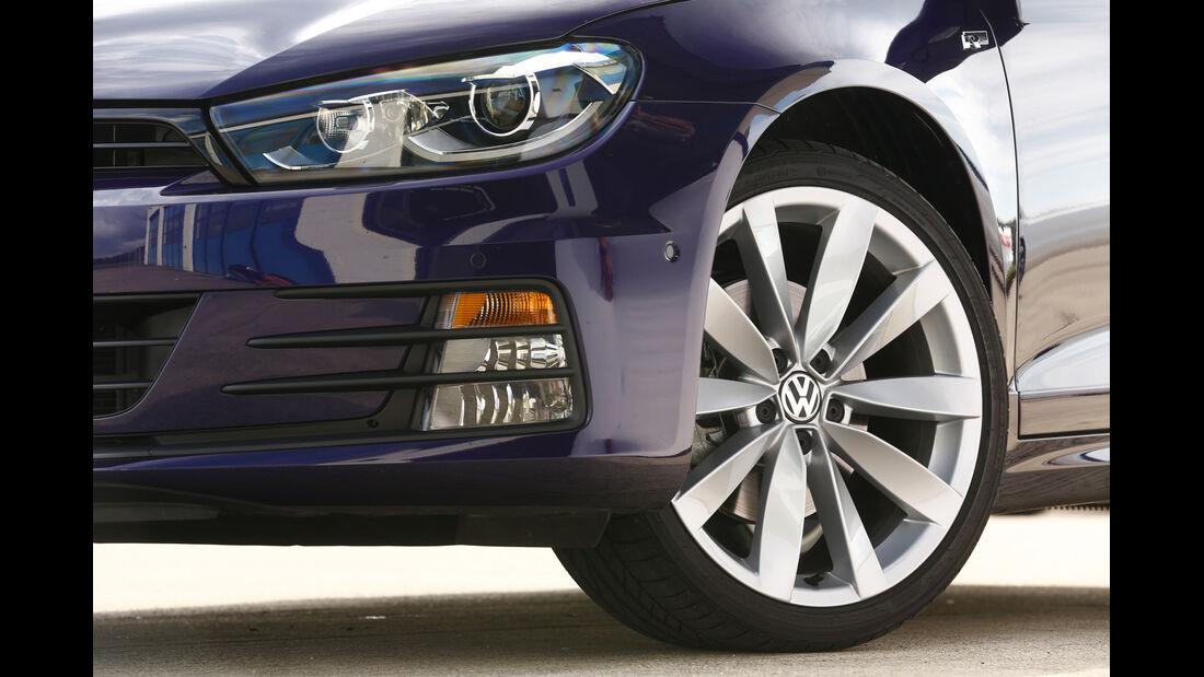 VW Scirocco TDI, Rad, Felge