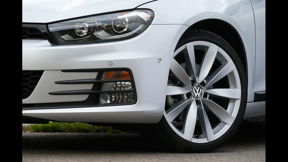 VW Scirocco TSI, Rad, Felge