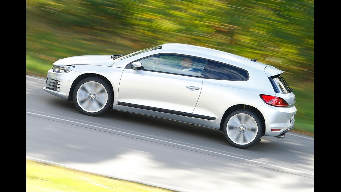 VW Scirocco TSI, Seitenansicht