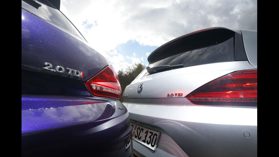 VW Scirocco TSI vs.TDI, Typenbezeichnung